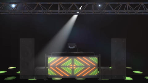 Pro DJ At Work mov looped Animation