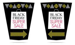 Black Friday Super Sale. Vector Banner Vector