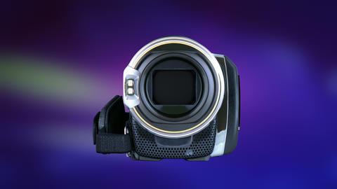 Transition video of video camera in 4K Filmmaterial