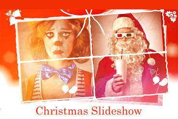 CHRISTMAS SLIDE After Effects Template