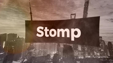 Stomp Opener Premiere Pro Template