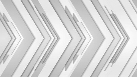 Grey abstract arrows technology video animation Animation