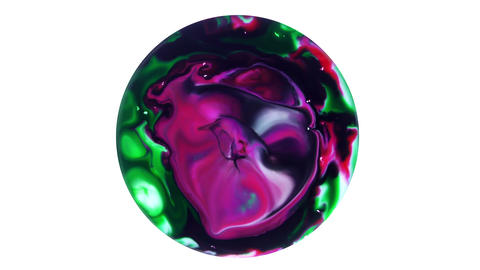 7 Colorful Ink Explode Universe Spheres Pack