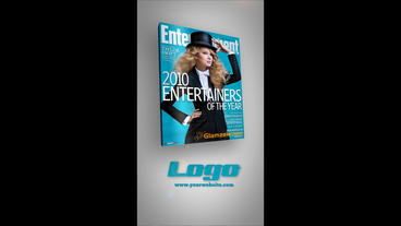 Short Vertical Magazine Promo After Effects Template