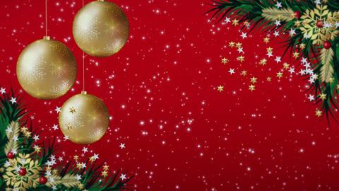 Red Christmas Animation