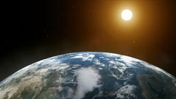 Dawn on planet earth 애니메이션