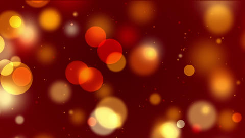 Colorful bokeh, defocused lights and particles, motion background Animation