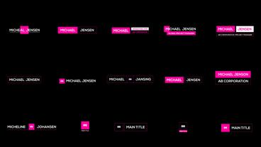 Elpis Motion Titles After Effects Template