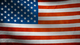 United States of American flag waving Animation
