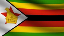 Zimbabwe flag Animation