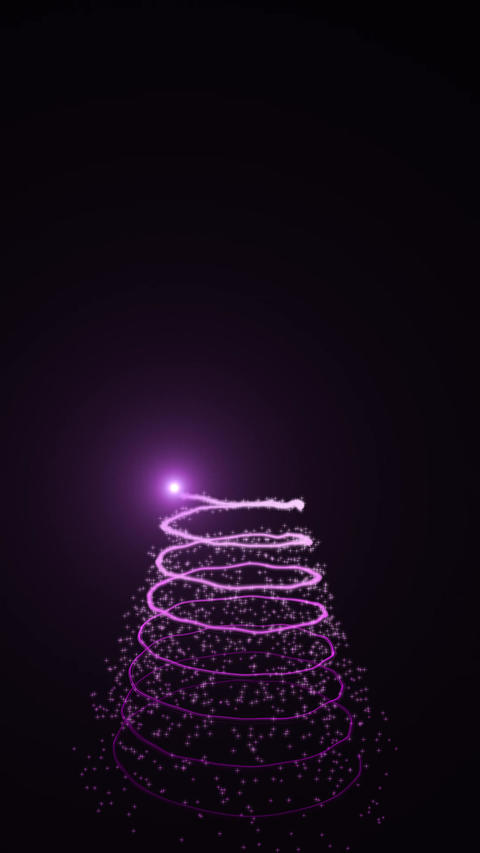 Pink christmas tree Image