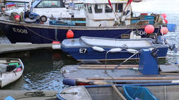 Boats moored at Exmouth Marina Exmouth Devon UK 2 Footage