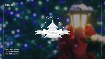 Christmas Titles After Effects Templates