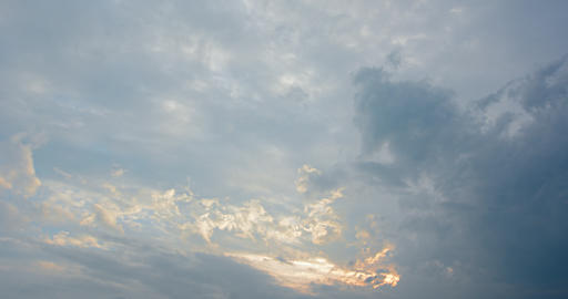 Abstract Timelapse of Heavenly Clouds Drifting in the Sky GIF