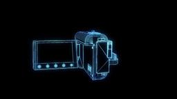 Camera Nice Hologram Animation 30FPS Animation