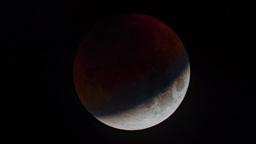 Total Lunar Eclipse Footage