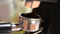 barista prepares coffee Footage