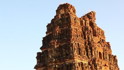 Vitala temple Hampi Karnataka India Footage