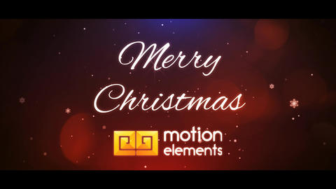 Christmas Titles 2 After Effects Template