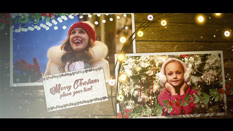 Christmas Wishes With Mobile Version After Effects Template