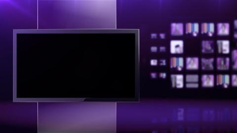 Violet studio background Footage