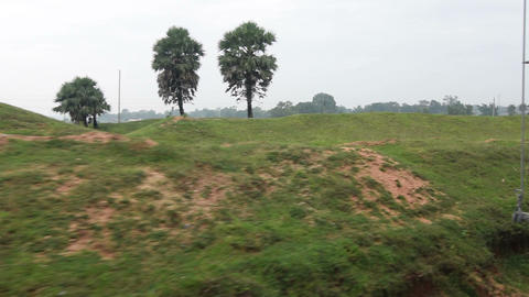 View of rural bengal Footage