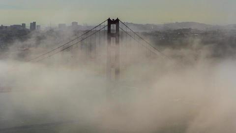 Golden Gate Bridge San Francisco Timelapse Footage