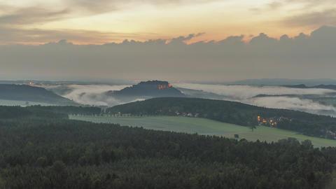 Saxon Switzerland National Park Timelapse Germany Live Action