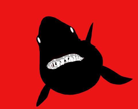 Shark bite high res Animation