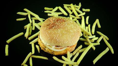Delicious Food Hamburger