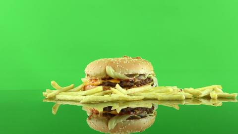 Delicious Food Hamburger 0