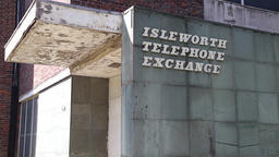 Isleworth telephone exchange UK 영상물