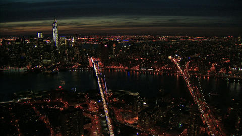 Nyc east river aerial Live Action