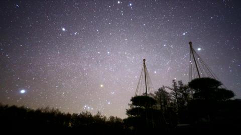 Winter stars going down timelapse ライブ動画