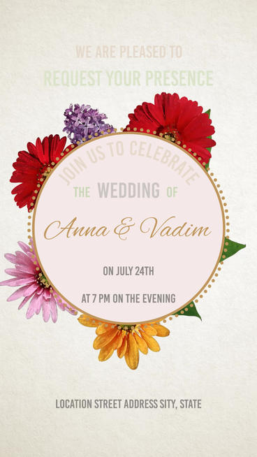 Wedding Plantilla de After Effects