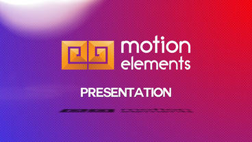 Presentation Shapes slideshow After Effects Template