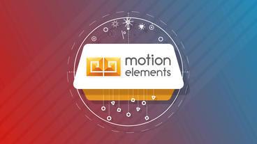 Shape Motion Logo Plantilla de After Effects