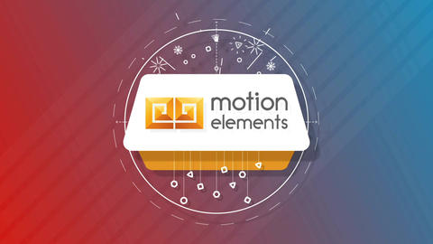 Shape Motion Logo After Effects Template