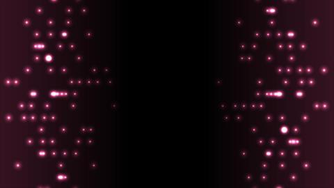 Dark purple abstract glowing circle lights video animation Animation