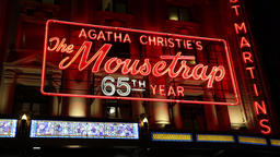 Agatha Christie's The Mousetrap St Martin's Theatre London UK Footage