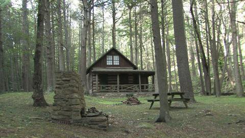 Hd farms countryside log cabin ビデオ