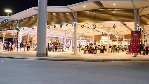 Phnom Penh international airport canteen Live Action