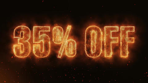 35% OFF Word Hot Burning on Realistic Fire Flames continuous seamlessly loop Animation