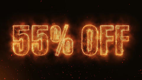 55% OFF Word Hot Burning on Realistic Fire Flames continuous seamlessly loop Animation