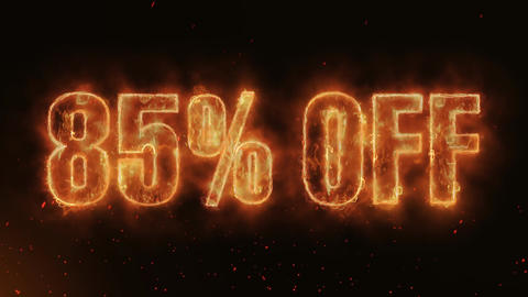 85% OFF Word Hot Burning on Realistic Fire Flames continuous seamlessly loop Animation