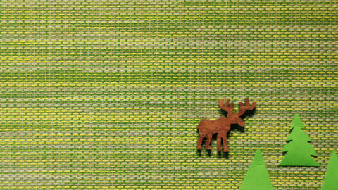 hunting on a deer Animation