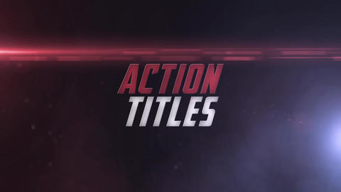 Action Titles After Effectsテンプレート