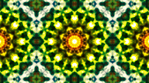 Colorful kaleidoscope Animación