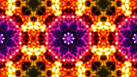 Colorful kaleidoscope Stock Video Footage