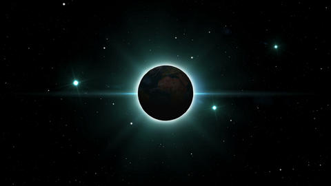 Planet_Eclipse CG動画素材
